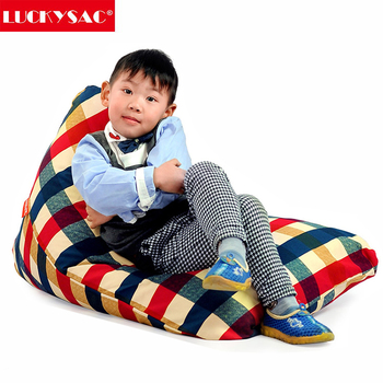 Newest Design Indoor Stuffed Animal Storage Bean Bag For Kids's Stuff Organization
