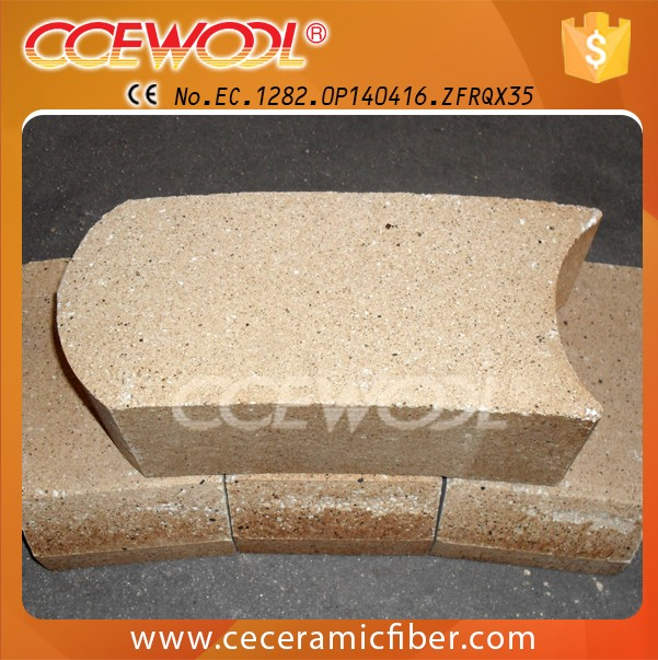 high temperature high alumina bubble brick for pizza oven