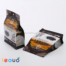 Factory wholesale biodegradable stand up frozen food pouch,custom fancy food bag
