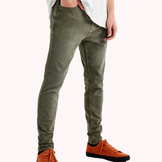 2017 Hot Sale High Quality Slim Men's Denim Pants Men's Causal Pants