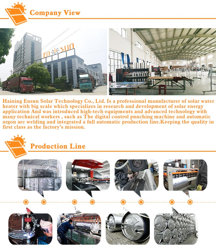 Factory manufacture various solar collector system