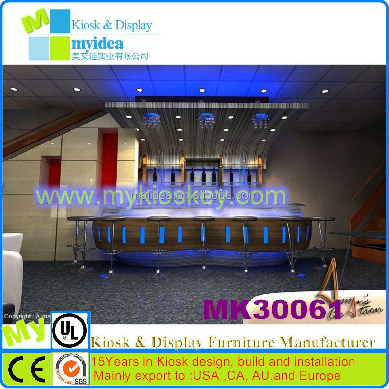 interactive I bar counter for night club, pub,wine bar,entertainment