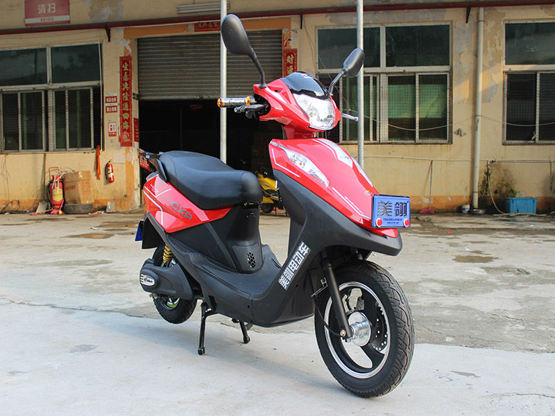 city sports powerful adults motorcycle electric moped