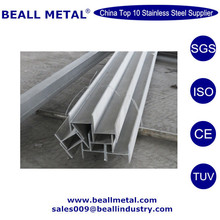 ASTM 201 304 316 316L 430 Stainless steel H Beam, I Beam Price Standard Size