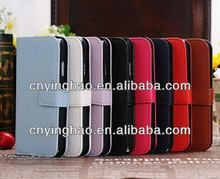 Popular best sell for Galaxy s4 leather case i9500