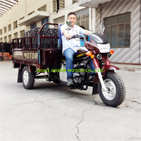 3 wheel motor trike cargo tricycle