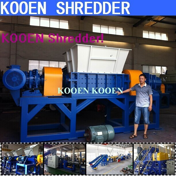 China new good quality agriculture film shredding machine