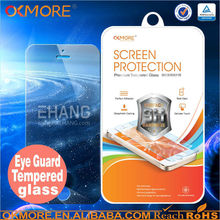 Wholesale cell phone accessory 0.15mm dust-proof tempered glass protector goophone for i5s mtk6572
