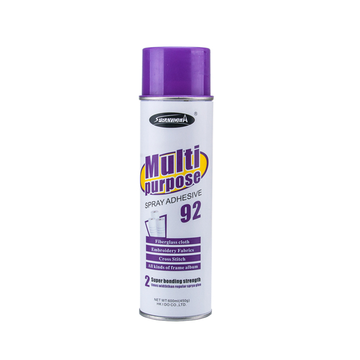 Multi-purpose Non-toxic Super Adhesive Spray Glue For Fiberglass
