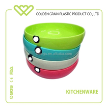 colorful plastic bowl different size