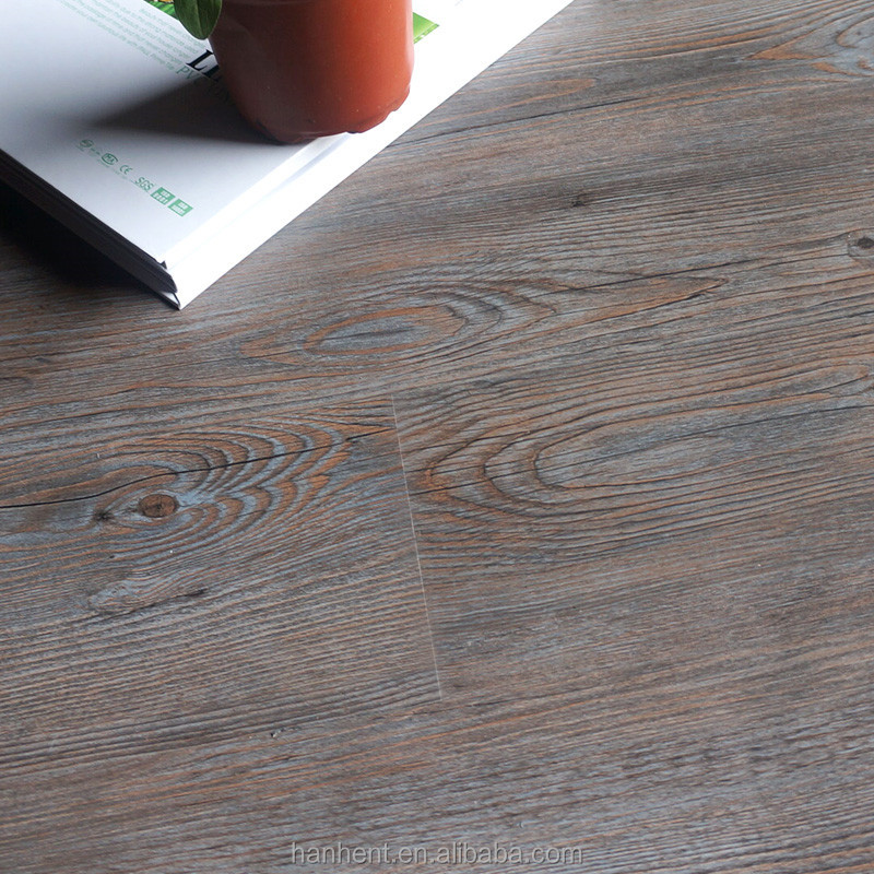 Zero radiation Zero formaldehyde Anti Bacterial plastic plank flooring