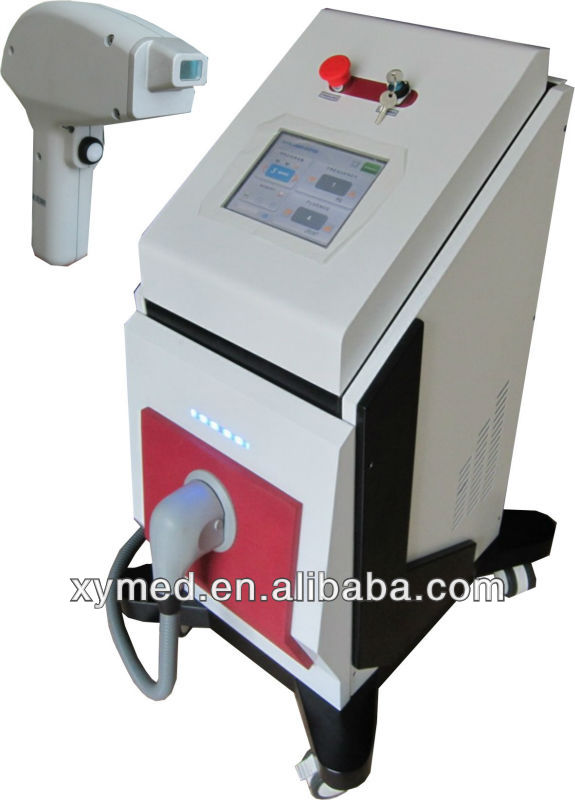 Hot-newest !!! 2013 Most Advanced Technology 808nm Diode Laser For Hair Removal Machine