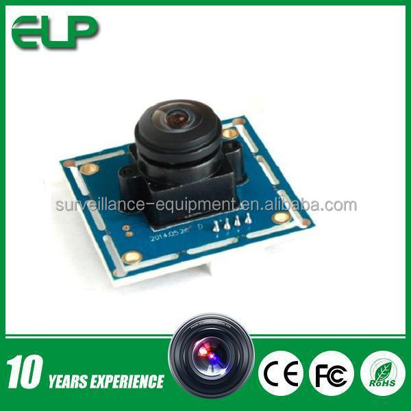 2.8mm lens 720P HD USB machine vision industrial camera ELP-USB100W03M-L170