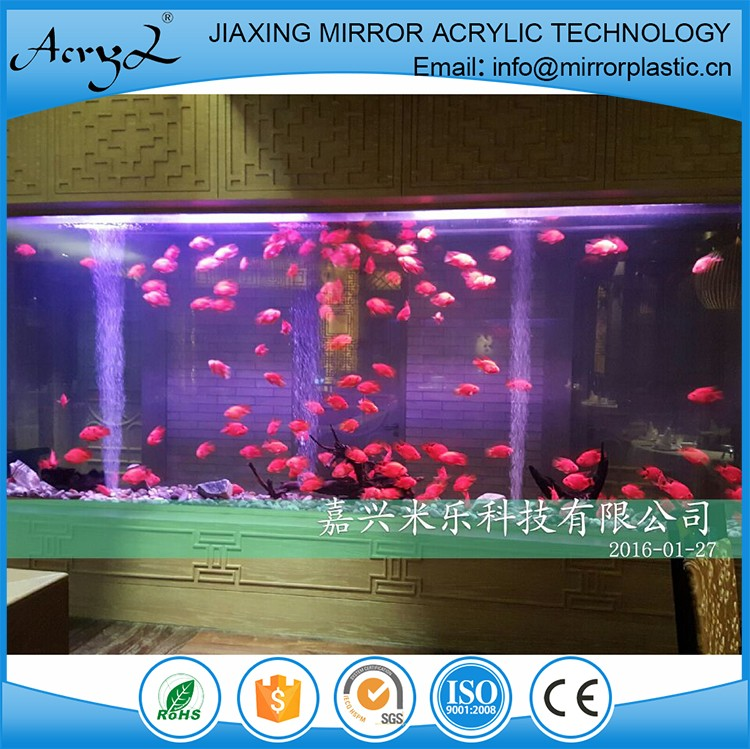 Alibaba wholesale design acrylic fish ornamental aquarium