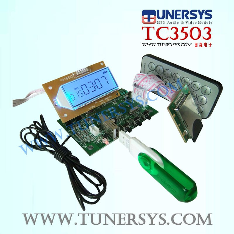TM3503 digital mp3 player usb driver