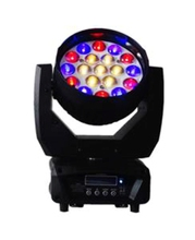 Professional wedding stage 19*15w LED RGBW sharpy beam moving head light