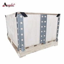 wholesale small wooden product packing foldable wooden crates
