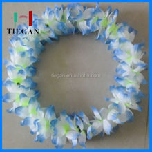 eco-friendly Freshed leis/ hawaiian leis for birthday or party hawaiian flower lei garland