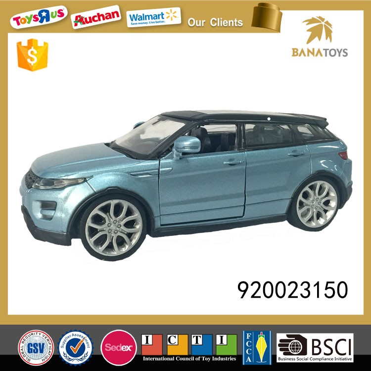 Alloy model land rover car die cast toy