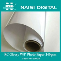 Naisi Digital inkjet glossy photo paper with sticker