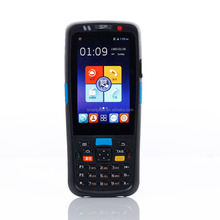 Android rugged phone with 1D 2D barcode scanner/ touch screen display WIFI GPS bluetooth NFC cradle Smartpeak C5000