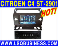 New! 7 inch headrest Citroen C4 car dvd player with TV 6CDC ST-2901