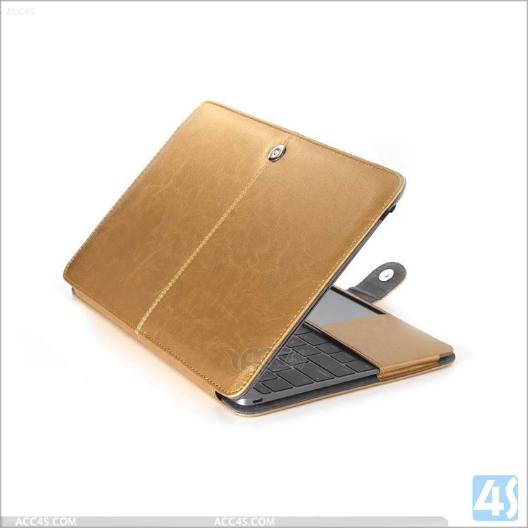 China Supplier Leather Cover Case For MacBook Air 12, PU Leather Case for Apple Macbook Air 12 Wholesale Cheap Price