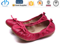 Lady oxford outsole Customized terry dance ballet lady oxford shoes