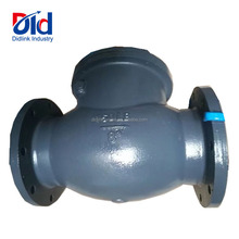"Cast Iron 150LB 8"" Inch Pull Handle Flap Globe Lift Spring Loaded Type Non Reture Prices Swing Check Valve"