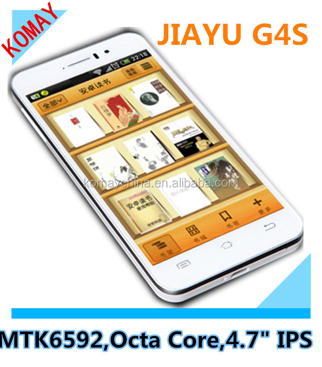 JIAYU G4C MTK6582 3000mAh Quad Core Phone JIAYU G4S G4 MTK6592 Octa Core Advanced Android Smart Phone JY G4C G4S Octacore Phones