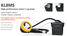 Wisdom Rechargeable Miners Headlamp/ Flash Lighting /LED Lighting KL5M With 8.7Ah Capacity ,MSHA,ATEX 28000Lux,60h Working