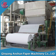 cylinder wire toiler paper production line,tissue paper making machine