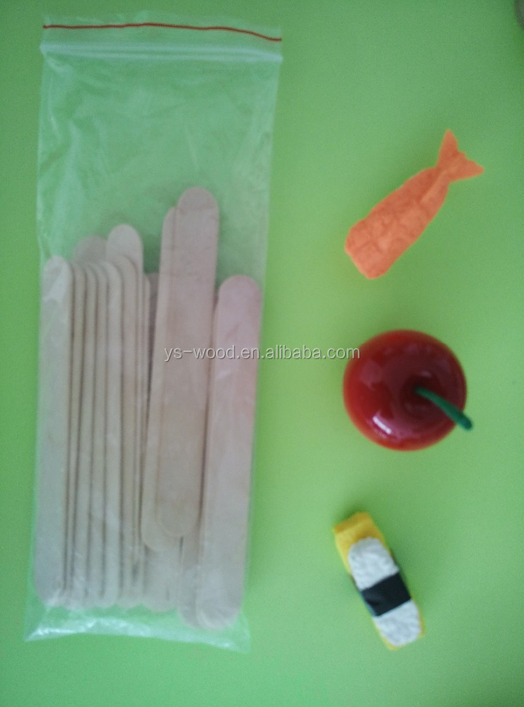 made in China birch wood craft house ice cream stick