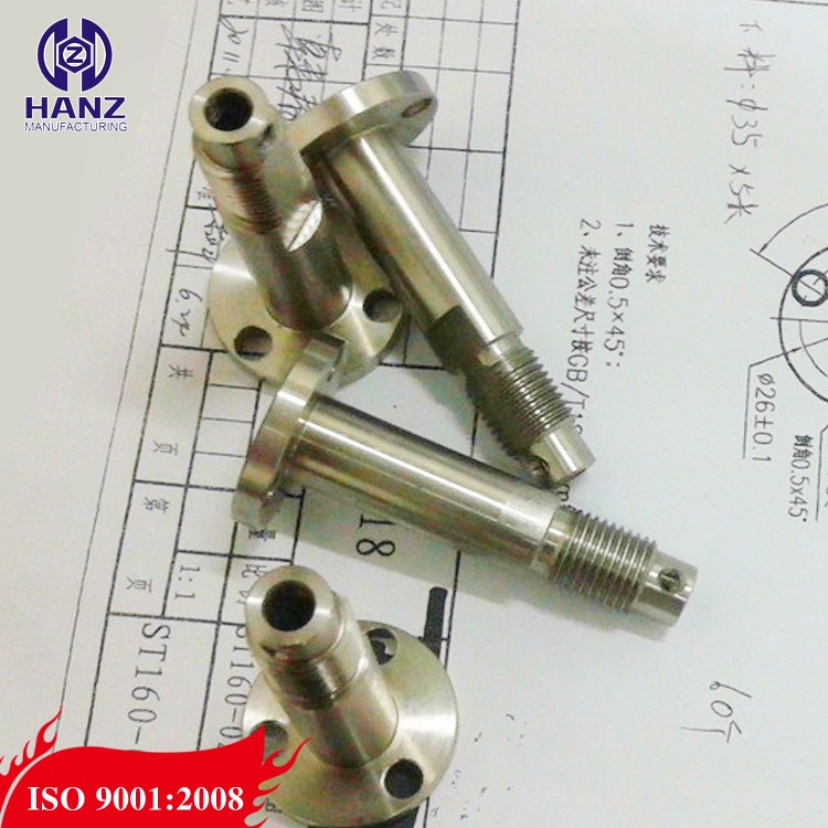 ISO 9001 cnc machining motorcycle spare parts
