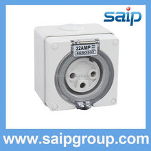 en 10241 standard steel 3-pin plug isolating switch socket