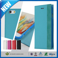 C&T New products leather wallet card slot design cell phone case cover for iphone 6 plus