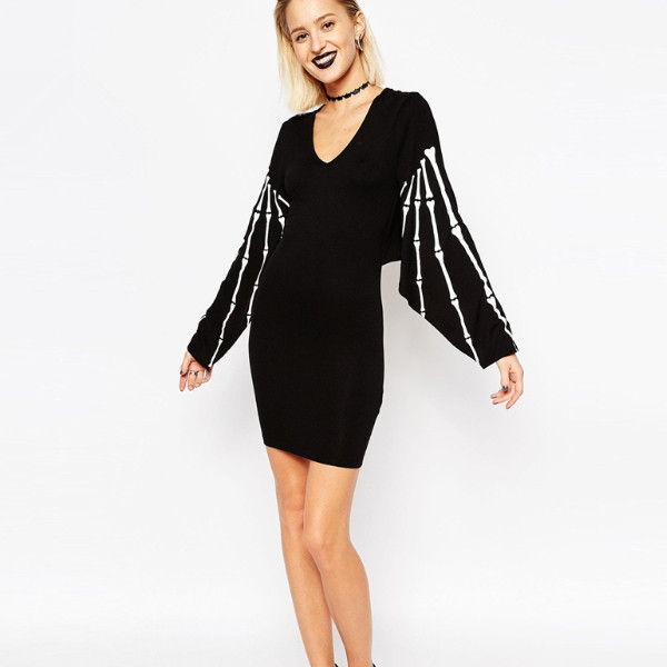 Long Sleeve Batwing Dress, Long Sleeve Batwing Dress Suppliers and  Manufacturers at Alibaba.com