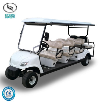 2017 Hot Sale Electric Mini Club car 8 seaters Golf Car LQY085