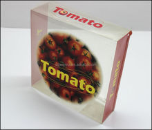 Custom PP clear food packaging box