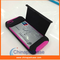 Credit card Slot/ID Card Holder Case for iPhone 4 4S