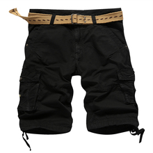 Alta calidad Straight fit Soft-touch sarga barato mens cargo shorts custom mens cargo short stock