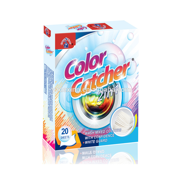 laundry care products <strong>color</strong> catcher with stain <strong>remover</strong> nonwoven fabric sheets from professional manufacturer