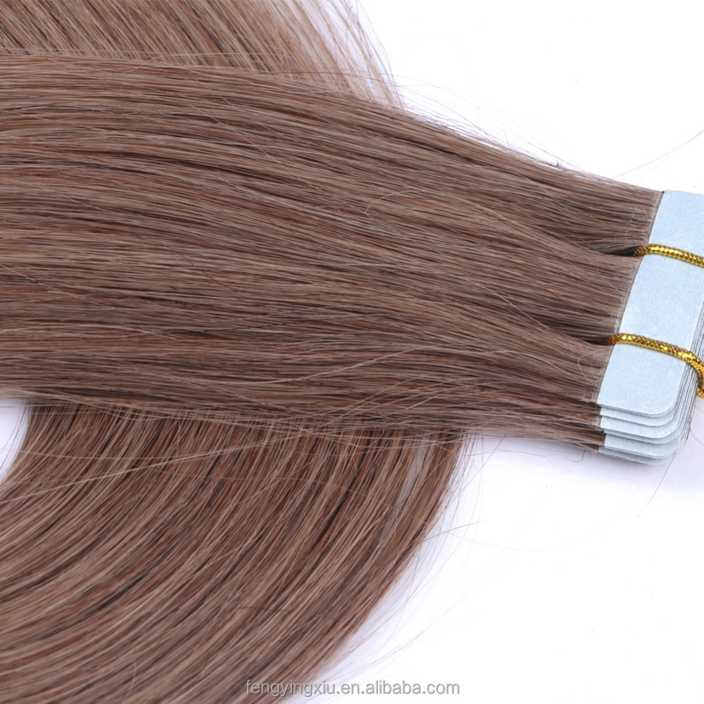 22colors Indian 3# silky straight Tape Hair Extensions,20pcs Skin Weft remy human Hair Extension