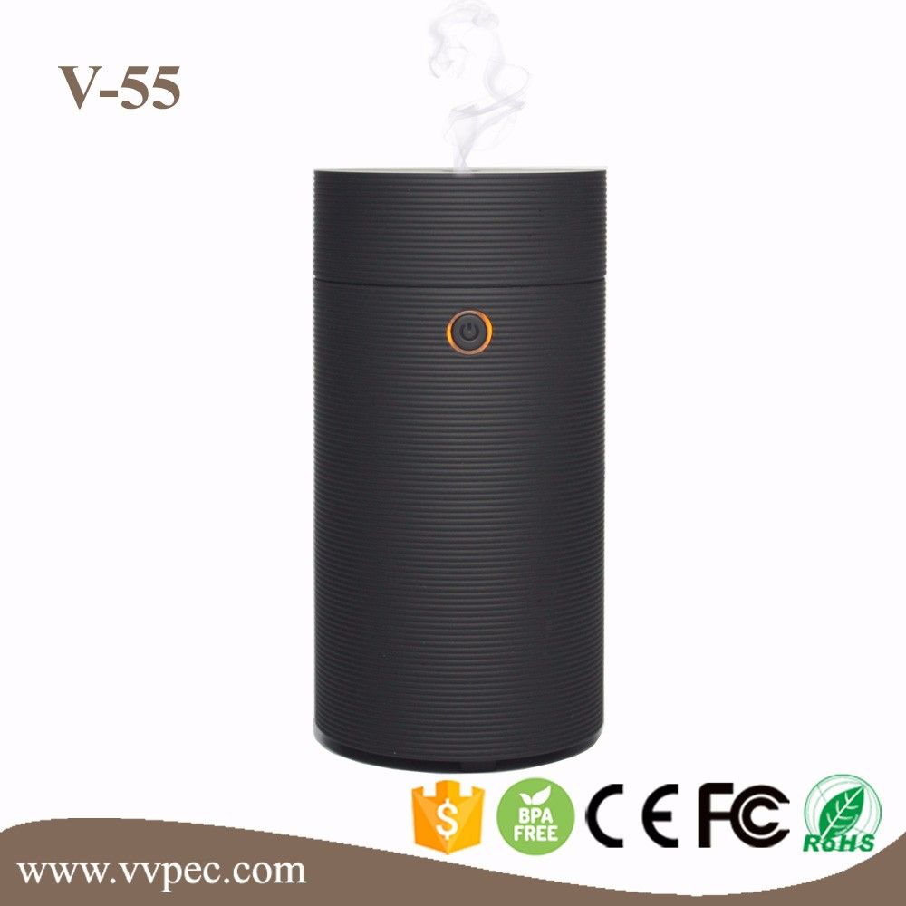 Car Humidifier Air Purifier Cup Aroma Diffuser USB Ultrasonic Humidifier Mist Maker Fogger Home Quiet Horizontal Air Condition