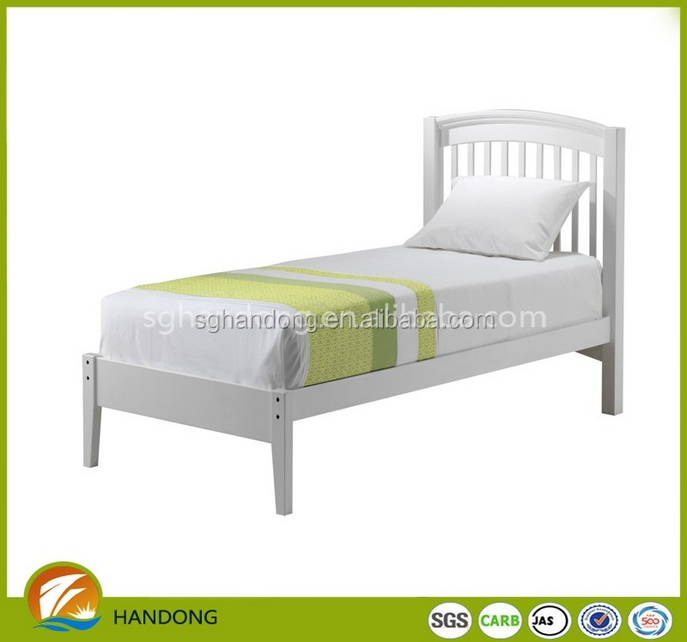 European style high quality super folding single bed for sale