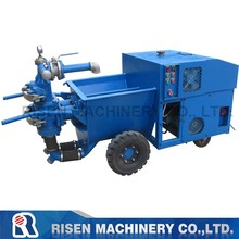 cement mortar spraying/ pumping /grouting machine - hydraulic double piston mortar plastering pump