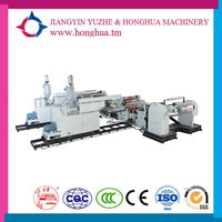 HDLF 65X2-1000 NEW ! Conditon Double Screw T-die Extrusion PE PP Coating Laminating Machine