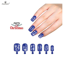 Fengshangmei high quality nail tips artificial nails 2017 new design christmas cheap false nail
