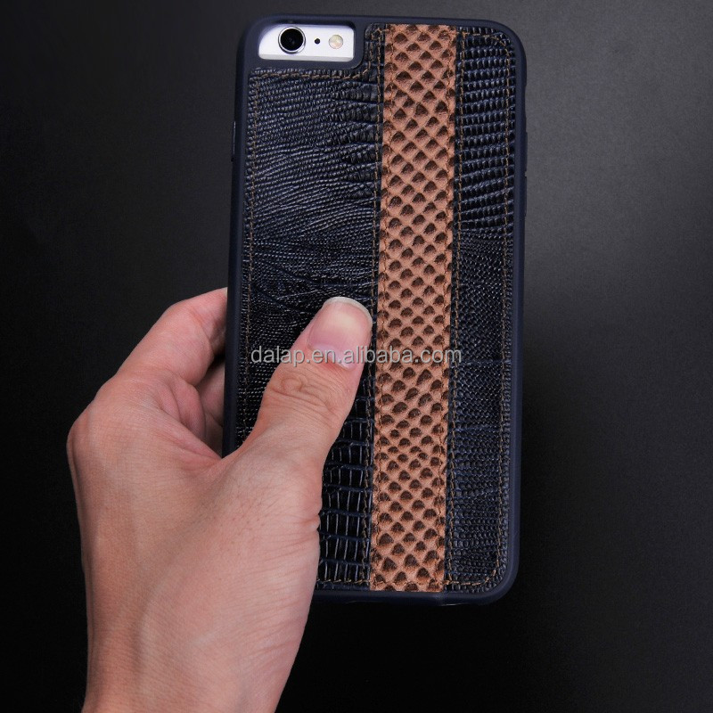 for iphone 6 case, cross leather case for iphone 6s, stitch leather for iphone 6 case