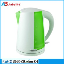 Novel thermostat home hotel glass stainless steel tea water kettle cordless electric kettle